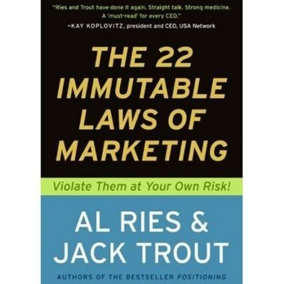 The 22 Immutable Laws Of Marketing19941