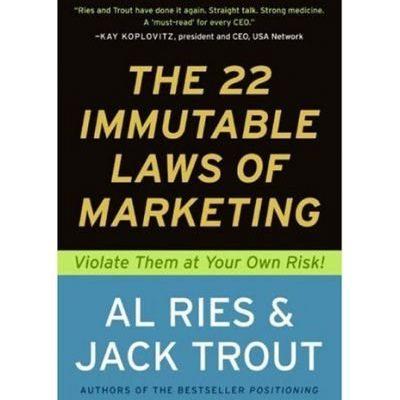 [Book Review] 마케팅 불변의 법칙(The 22 Immutable Laws Of Marketing)