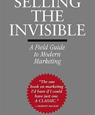 [Book Review] 보이지 않는 것을 팔아라(Selling The Invisible)